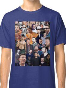 Chris Evans Collage  Classic T-Shirt
