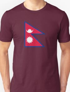 National flag of Nepal T-Shirt