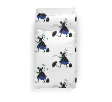 Mary Poppin Bottles Duvet Cover