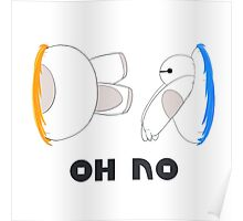 Oh No Baymax failed teleport Poster