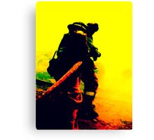 Fighters of Fire Canvas Print