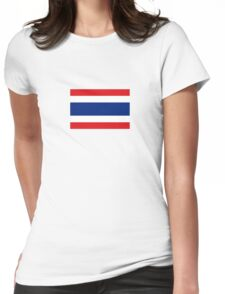 National flag of Thailand Womens Fitted T-Shirt