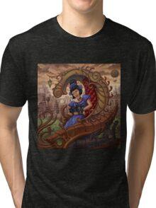 Madame Mollusk Tri-blend T-Shirt