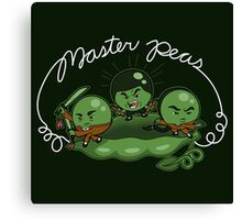 Master Peas Canvas Print