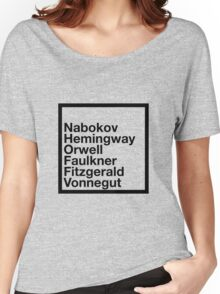 Famous Authors Women's Relaxed Fit T-Shirt