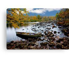 Oxtongue River Scenic - Ontario, Canada Canvas Print