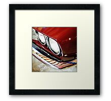 jensen interceptor lights Framed Print