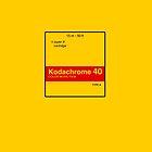 Kodachrome 40 (Type A) by Richard McKenzie