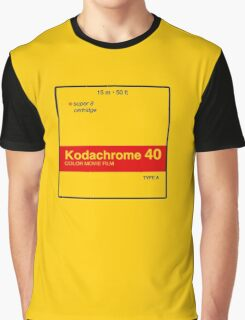Kodachrome 40 (Type A) Graphic T-Shirt