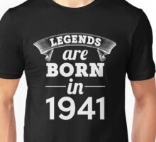 legends are born in 1941 shirt hoodie Unisex T-Shirt