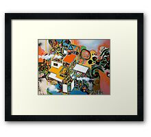 untitled 3 (or: brave new world ) Framed Print