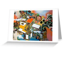 untitled 3 (or: brave new world ) Greeting Card