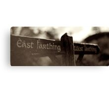 East & West Canvas Print
