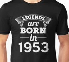 legends are born in 1953 shirt hoodie Unisex T-Shirt