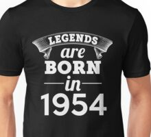 legends are born in 1954 shirt hoodie Unisex T-Shirt