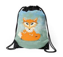 Foxy mamma Drawstring Bag