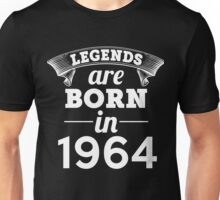 legends are born in 1964 shirt hoodie Unisex T-Shirt