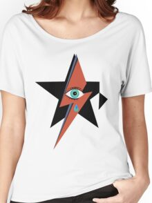 David Bowie : A rock star went to heaven Women's Relaxed Fit T-Shirt
