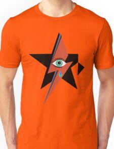 David Bowie : A rock star went to heaven Unisex T-Shirt