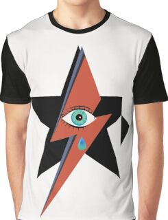 David Bowie : A rock star went to heaven Graphic T-Shirt