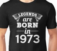 legends are born in 1973 shirt hoodie Unisex T-Shirt
