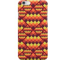 Seamless geometric pattern. Bright pixel design. iPhone Case/Skin