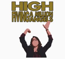 Liz Lemon - High fiving a million angels Kids Tee