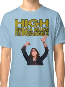 Liz Lemon - High fiving a million angels Classic T-Shirt