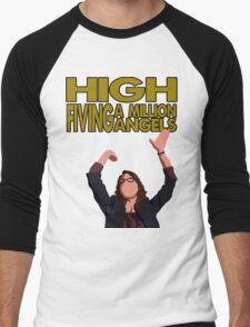 Liz Lemon - High fiving a million angels Men's Baseball ¾ T-Shirt