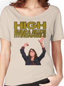 Liz Lemon - High fiving a million angels Women's Relaxed Fit T-Shirt