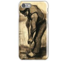 Vincent Van Gogh Drawings, Digger iPhone Case/Skin