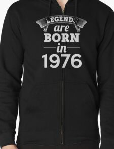 legends are born in 1976 shirt hoodie T-Shirt