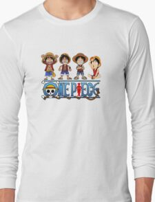 Luffy Kids - One Piece Long Sleeve T-Shirt