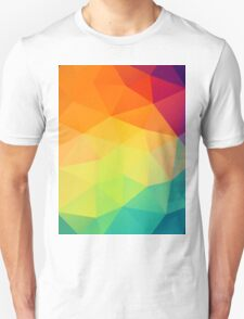 colorful crystal pattern Unisex T-Shirt