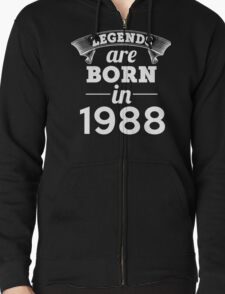 legends are born in 1988 shirt hoodie T-Shirt