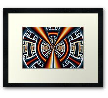 Central Vanishing Point No. 1 Framed Print