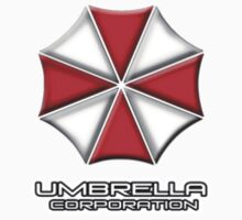 Umbrella Corporation Red And White Kids Tee