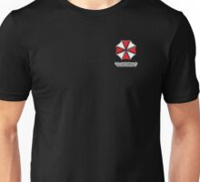 Umbrella Corporation Red And White Unisex T-Shirt