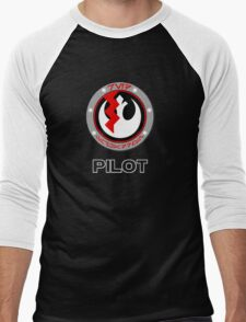 Star Wars Episode VII - Red Squadron (Resistance) - Star Wars Veteran Series Men's Baseball ¾ T-Shirt