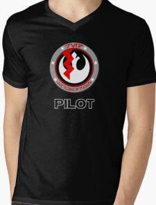 Star Wars Episode VII - Red Squadron (Resistance) - Star Wars Veteran Series Mens V-Neck T-Shirt