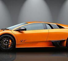 Lamborghini Murcielago Sv by Matt Malloy