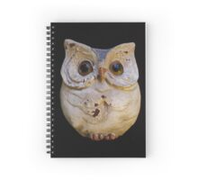 Wise Old Owl Spiral Notebook