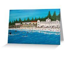 """Cottesloe beach"" EJCairns Greeting Card"