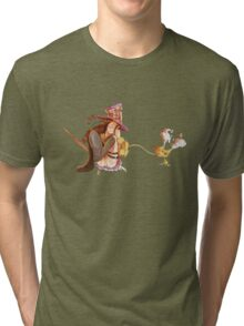 Ops, Caitlyn grabbed from Blitzcrank! Tri-blend T-Shirt