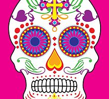 Sugar Skull by monsterplanet