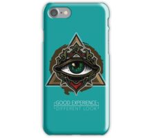"Illuminati#1 Eye [Workart] ""Different Look"" iPhone Case/Skin"