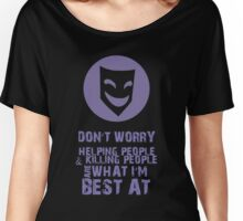 What I'm Best At - V2 Women's Relaxed Fit T-Shirt