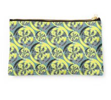 Black and yellow pattern Studio Pouch