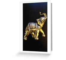 Good Luck Elephant Greeting Card