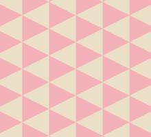 retro triangular pattern Sticker